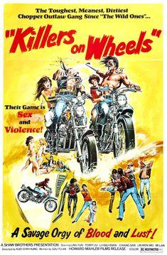 biker movie posters - killers on wheels