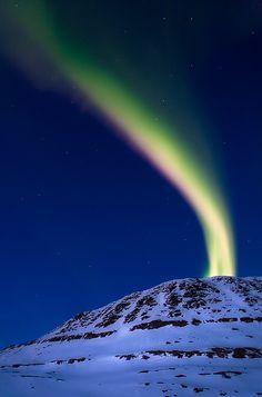 Aurora borealis, Norway by Arild Heitmann, via 500px