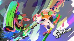 Get this Splatoon wallpaper for the summer ⊟ Nintendo's Japanese site has this in different sizes for computers and smartphones. If you want it in a different size than the one I put at the top of this post, get it now! They're only up through the...