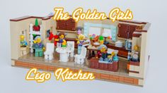Lego Golden Girls Kitchen. I so hope they make this into a set!!!!
