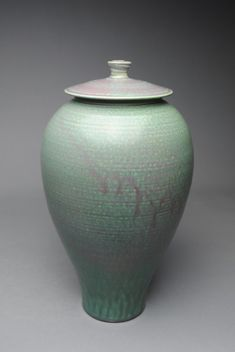 Covered Jar Copper G