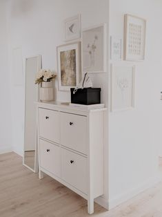 hupso Shoe cabinet: Find your storage solution! Shoe Cabinet, Shoe Cupboard, Find Furniture, Dresser As Nightstand, Storage Solutions, Room Inspiration, Living Spaces, Sweet Home, Bedroom Decor