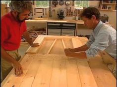 Bob Vila and carpenter Bob Ryley demonstrate how to build a wood door. For more how to's, visit: http://www.bobvila.com