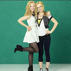 """What a great Disney channel original series """"Liv and Maddie!"""" Identical twin sisters are absolutely awesome! Disney Channel, Liv Y Maddie, Star Fashion, Girl Fashion, Liv Rooney, Blake Lovely, Dove Cameron Style, Disney Stars, Disney Fun"""