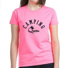 camping queen T-Shirt on CafePress.com  funny summer camp