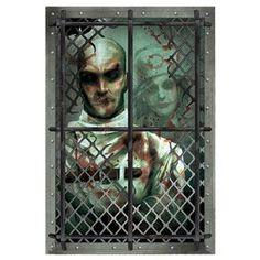 Asylum Straitjacket Inmate Wall Grabber - 359847 | trendyhalloween.com #halloweendecorations