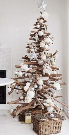 Δείτε εδώ περισσσότερες Χριστουγεννιάτικες ιδέες με κορμούς-κλαδιά