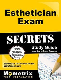 """""""Esthetician Exam Secrets Study Guide: Esthetician Test Review for the Esthetician Exam""""- This is a fantastic resource for anyone with a big exam coming up.Find out more by clicking to read the blog post! . #esthetician #esthetics #salon #estheticscareer #spa"""