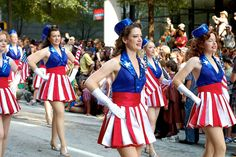 Captain America USO Girls by papercuppie, via Flickr - pleats