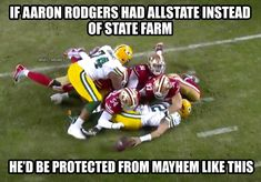 13 Best Memes of the San Francisco Destroying the Green Bay Packers - Sportige 49ers Memes, Packers Memes, Nfl Memes, Football Memes, Sports Memes, Nfl Sports, Funny Sports, Football Hits, Packers Nfl