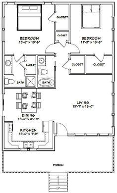 X house 1136 sq ft pdf floor etsy 30x40 House Plans, Metal House Plans, Small House Floor Plans, Barn House Plans, Ranch House Plans, Condo Floor Plans, Design Floor Plans, A Frame Floor Plans, A Frame Cabin Plans