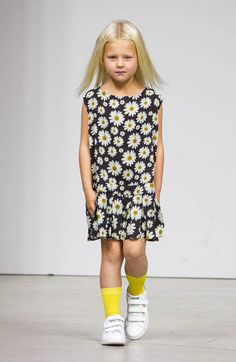 petiteMODEL in look by Bonnie Young at 7th edition of #petitePARADE, Kids Fashion Week in NYC!