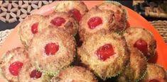 Τέλεια Ατομικά κεκάκια γλυκίσματα με γεύση καρύδα-μάρτσιπαν Cheese Pies, Candy Recipes, Muffins, Breakfast, Desserts, Food, Morning Coffee, Tailgate Desserts, Muffin