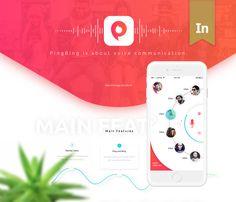 다음 @Behance 프로젝트 확인: \u201cPingBing\u201d https://www.behance.net/gallery/46007757/PingBing