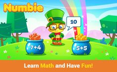 {Fun App} Basic Math Skills for School with Numbie on iTunes & Google Play |Happily Blended