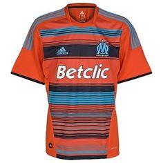 camisetas de futbol Olympique de Marseille manga larga
