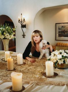 Request: pictures of Stevie in her homes over the years.