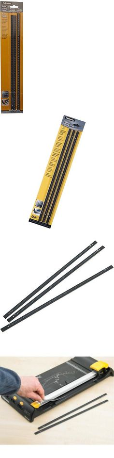 Fellowes 5411504 Replacement Cutting Strips 12 3//PK