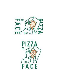 2 Logo, Logo Branding, Flat Logo, Logo Pizzeria, Posters Conception Graphique, Inspiration Logo Design, Cake Logo Design, Cafe Logo, Graphic Design Posters
