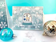 """Interactive Cards by Lydia Cost featuring """"Winter Magic"""" for #EchoParkPaper Echo Park Paper, Interactive Cards, Winter Magic"""