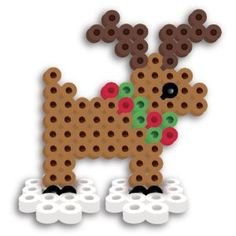 Perler Beads Fused Bead Kit - Reindeer