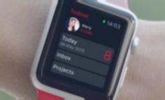 Le gestionnaire de tâches Todoist débarque sur l'Apple Watch