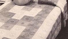 Patrón #3: Cómo hacer una Colcha de Cinco Colores a Crochet