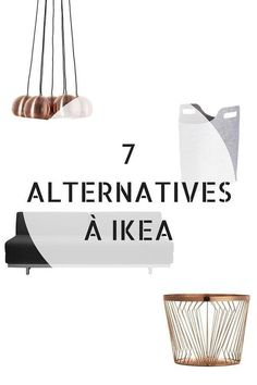 Marre d'IKEA ? Voici 7 Alternatives Que Vous Devez Connaître http://www.homelisty.com/alternative-ikea/