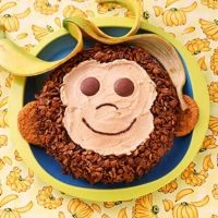 I made this for Jake's 1st birthday, it was super easy and tasted great!