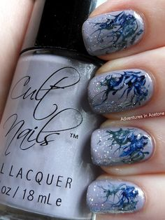 Needle Marble Design courtesy of Adventures in Acetone. Wish I was this creative!