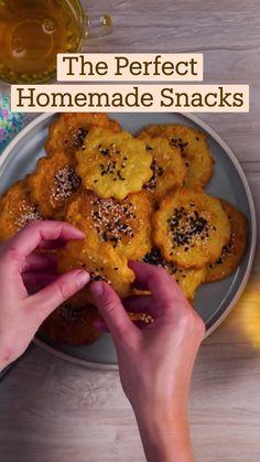 Fun Baking Recipes, Cooking Recipes, Diy Food, Appetizer Recipes, Appetizers, Food Videos, Tapas, Food To Make, Food Porn