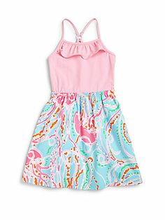 Lilly Pulitzer Kids Girl's Dory Dress