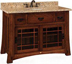 Images On Morgan Vanity Cabinet Oak