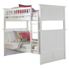 Atlantic Furniture Nantucket Twin Over Twin Bunk Bed - AB591