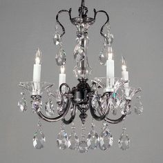 Classic Lighting Via Lombardi 4 Light Crystal Chandelier Crystal Type: Crystalique-Plus, Finish: 24k Gold Plate