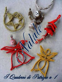 Image may contain: jewelry Macrame Tutorial, Bracelet Tutorial, Christmas Snowflakes, Christmas Ornaments, Macrame Design, Jingle All The Way, Macrame Patterns, Tatting, Diy And Crafts