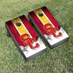 USC Trojans Vintage Cornhole Game Set - $239.99