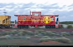 RailPictures.Net Photo: AT&SF 999827 Grand Canyon Railway Caboose at Williams, Arizona by Paolo Roffo