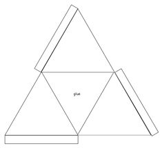 3d Triangle Templates Printable Shapes
