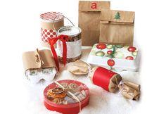 On bricole des emballages de Noël - Vacances Fêtes Coup de Pouce