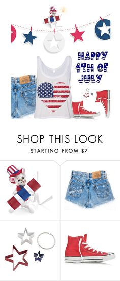 """Happy 4th Of July!"" by idocoffee ❤ liked on Polyvore featuring Williams-Sonoma and Converse"