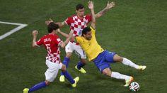 Barzil 3-1 Croatia. Penalty on Fred ?