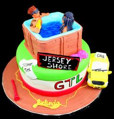Jersey Shore cake