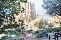 The famous Sagrada Família in Barcelona  #barcelona #barcelonagram #topbarcelonaphoto #barcelona_world #barcelonacity #sagradafamillia #sagradafamiliabarcelona ##topspainphoto #spaintravel #europegoals #speechlessplaces