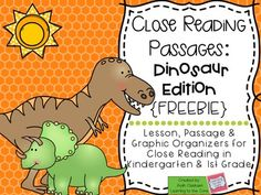 Browse DINOSAURS resources on Teachers Pay Teachers, a marketplace trusted by millions of teachers for original educational resources. 1st Grade Activities, Dinosaur Activities, Kindergarten Themes, Reading Activities, Dinosaur Dinosaur, Cloze Reading, Reading Passages, Guided Reading, Reading Art