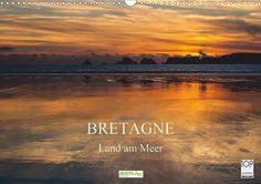 Bretagne - Land am Meer - CALVENDO Kalender