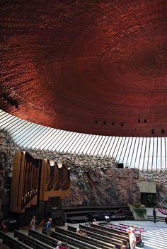 Temppeliaukio finland