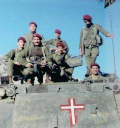 The Lebanese force ( christian militia