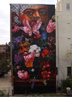 portrait of Henry Hudson by Savage Habbit / GAIA Street Art in Jersey City, New Jersey - 10/14 (LP)