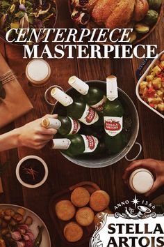 Friendsgiving is more about the memories you'll make and talk about for years, and less about the apples, carrots, chopped onions, herbs and butter. Though that and a side of Stella does sound really good.